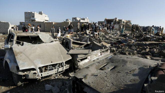 也门西北部边境遭炮击至少10人死亡