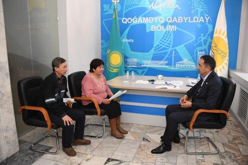 Almatylyqtar qabyldaýǵa jeke bas máselesimen ǵana kelmeıdi – Saǵyntaev