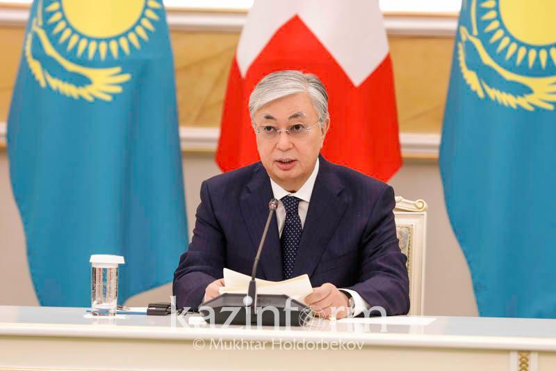 托卡耶夫总统:瑞士是哈萨克斯坦的重要伙伴之一