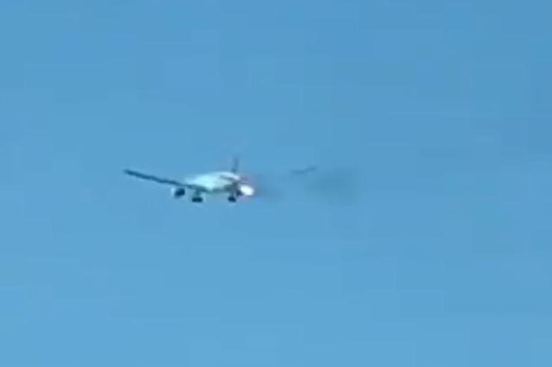菲律宾航空客机引擎失灵 起飞后紧急回返