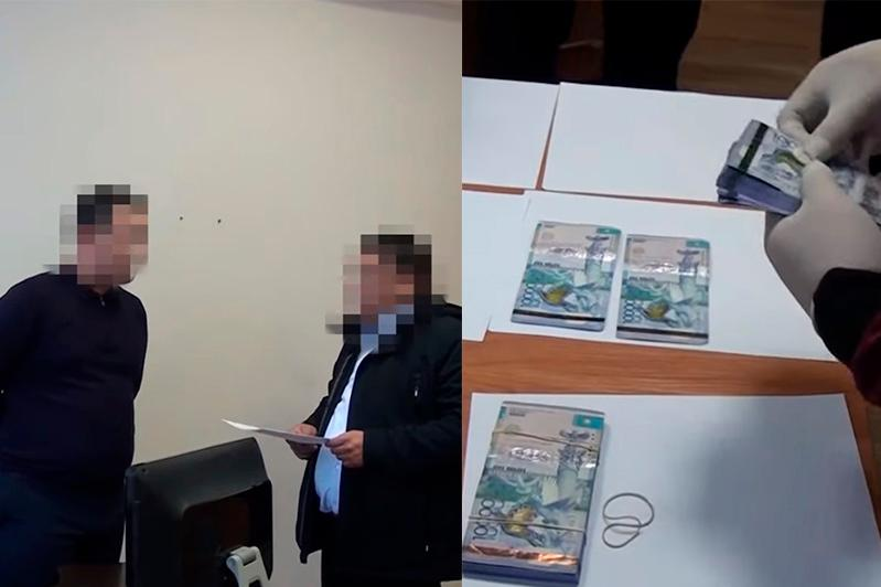 Алматыда сот актілерін орындау бөлімінің басшысы 2 млн теңге пара алған