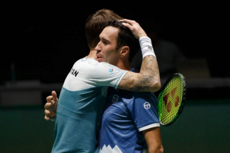 Kazakhstan suffer defeat vs Great Britain in 2019 Davis Cup
