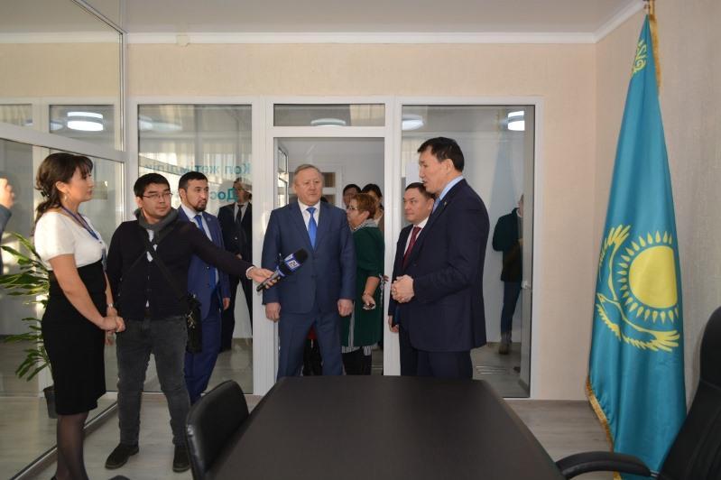 В Кокшетау состоялось открытие проектного офиса «AQMOLA – Adaldyq Alaṅy» в формате Open Space