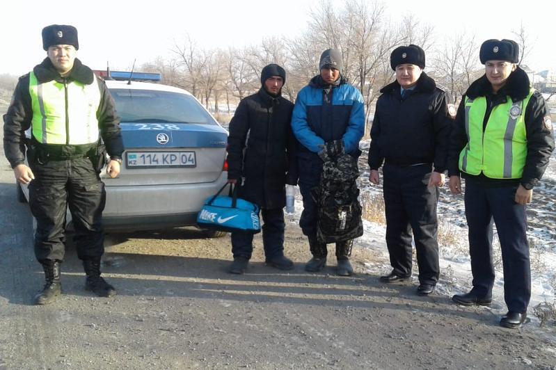 Двое узбекистанцев в мороз, без денег и пешком, отправились домой из Актобе