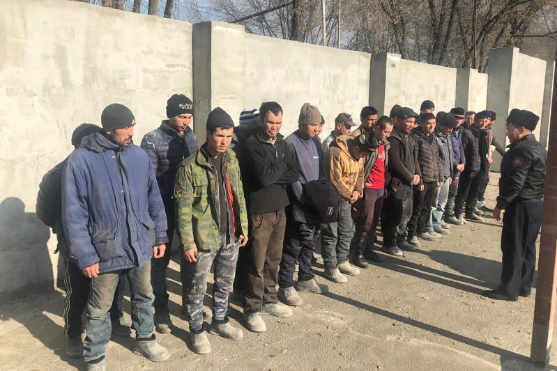 Өзбекстанның 2 мың азаматы Қазақстанда заңсыз жүрген