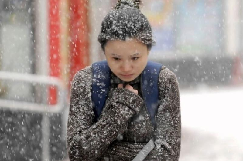 China issues blue alert for cold wave