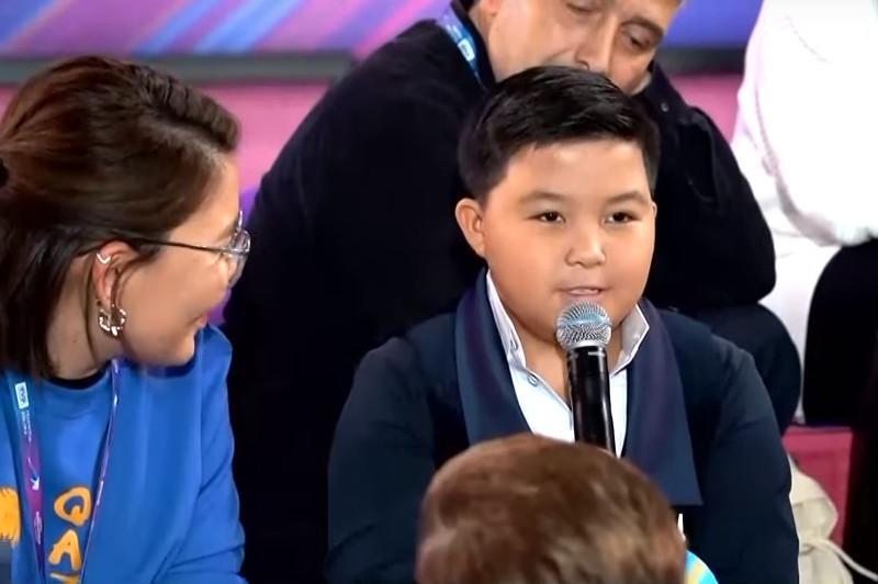 Junior Eurovision: Ержан Максим қазақстандық және шетелдік БАҚ сұрақтарына жауап берді