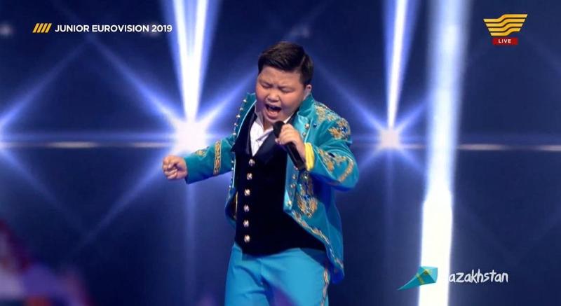 Ержан Максим выступил на Детском Евровидении-2019