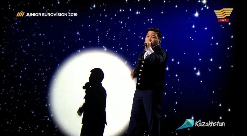 Видео с выступлением Ержана Максима на Eurovision Junior 2019 появилось в Сети