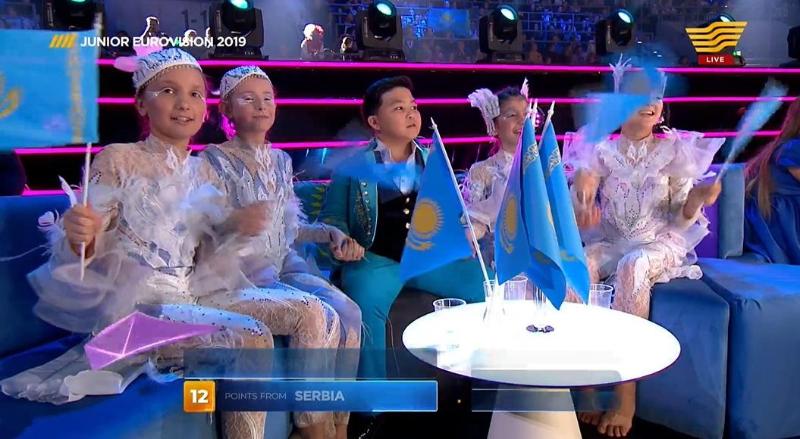 Ержан Максим занял второе место на Eurovision Junior 2019