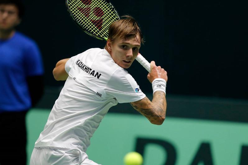 Kazakhstani tennis player up in ATP rankings