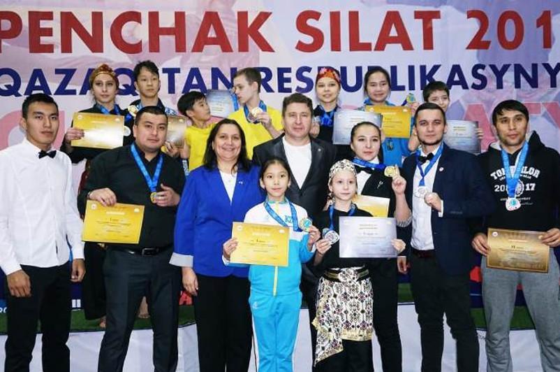 Первый чемпионат республики по Пенчак Силат прошел в Караганде