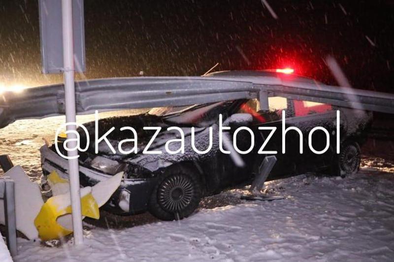 ДТП на трассе Алматы – Хоргос: скончалась пассажирка авто