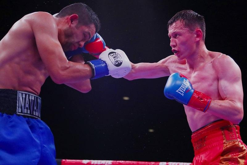 职业拳击:中国哈萨克拳手点数击败墨西哥对手