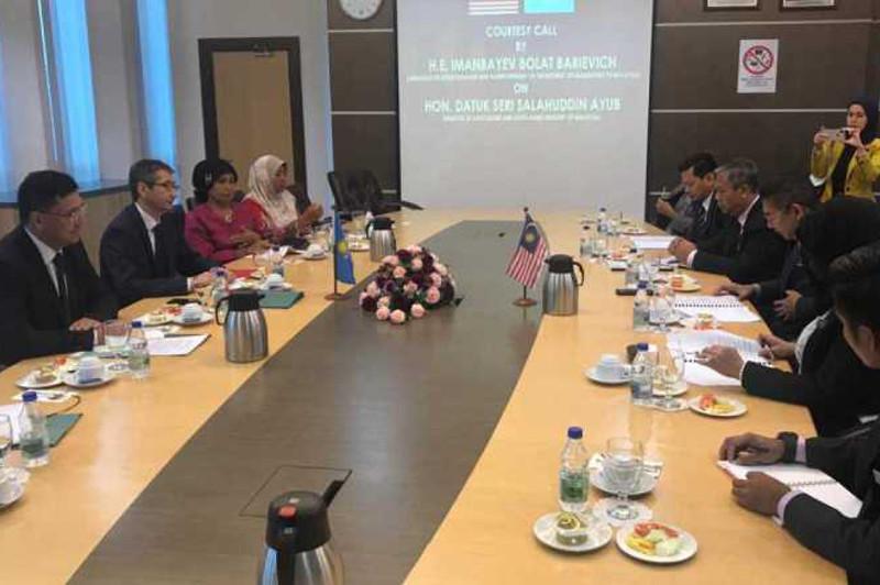 哈萨克斯坦与马来西亚有意加强农业领域合作