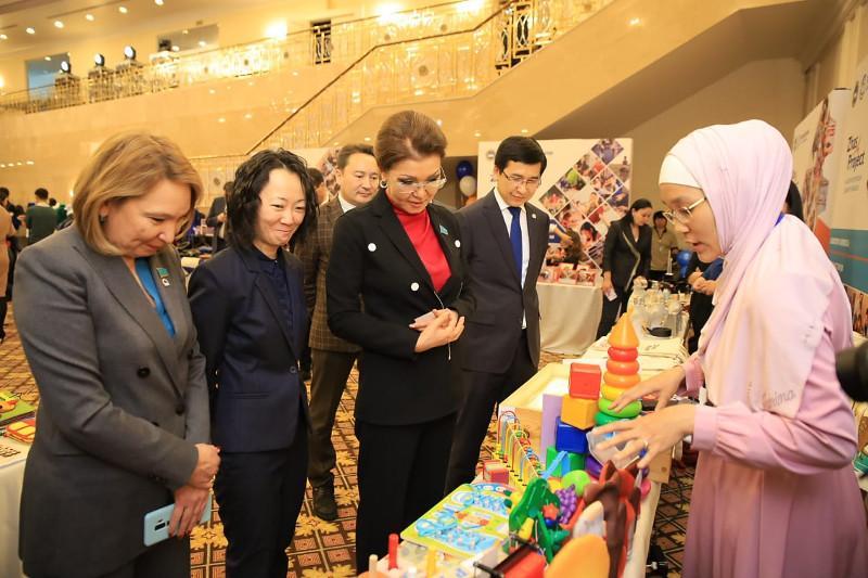 Дарига Назарбаева призвала молодых предпринимателей осваивать современные технологии