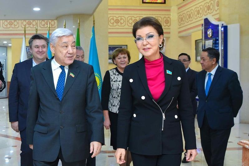 Дарига Назарбаева встретилась с председателем Госсовета Республики Татарстан