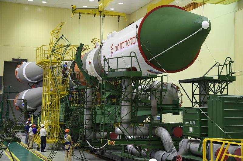 Старт космического грузовика «Прогресс МС-13» с Байконура перенесен