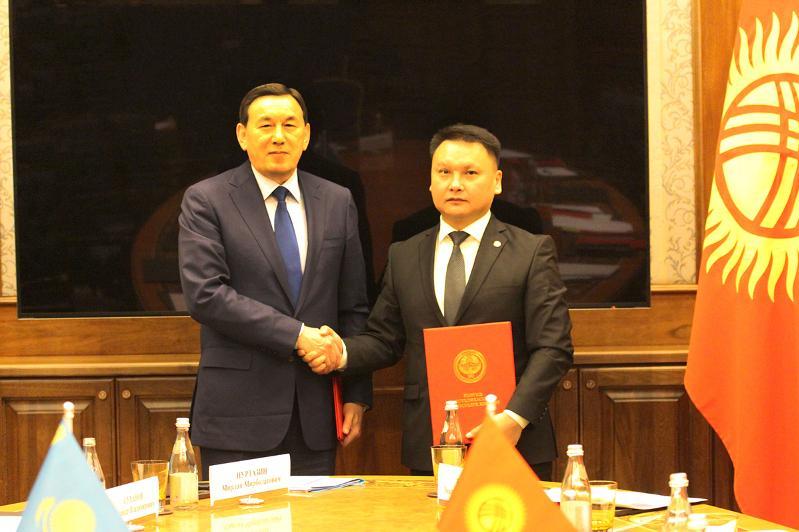 哈吉两国国家安全机构间例行会议在比什凯克举行