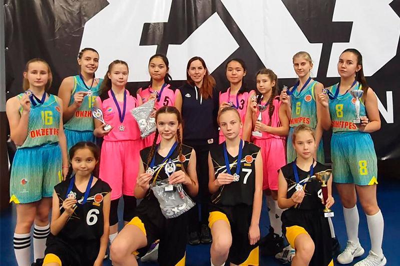 Акмолинские баскетболисты стали чемпионами Казахстана