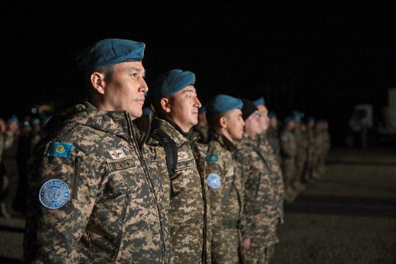 Kazakhstan's third peacekeeping company arrives in Lebanon