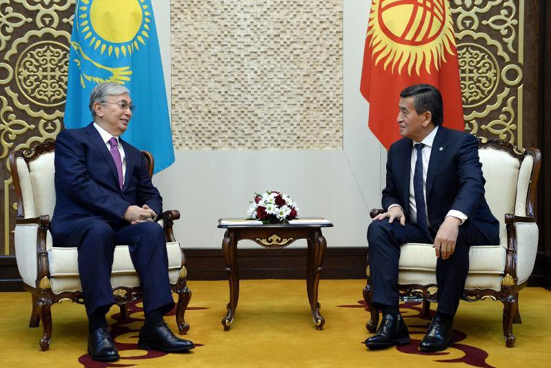 Бішкекте Қазақстан мен Қырғызстан Президенттерінің келіссөздері басталды
