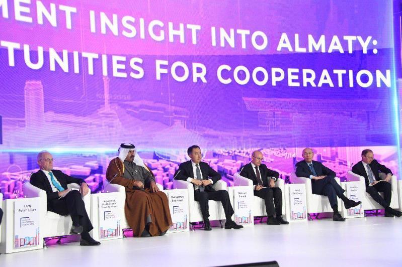 Более 30 документов на сумму 2,3 млрд долларов подписали на Almaty Invest Forum
