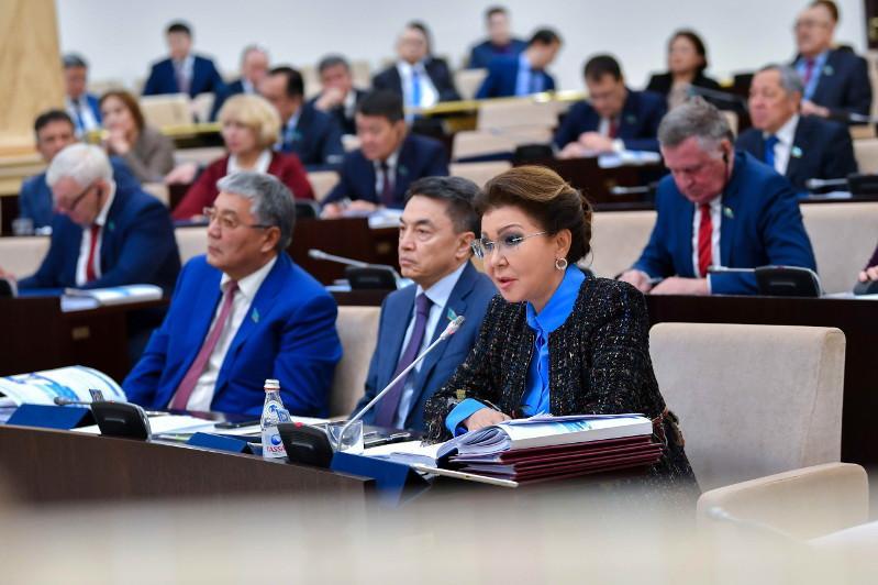 Отдельный госорган по вопросам водной безопасности предложила создать Дарига Назарбаева