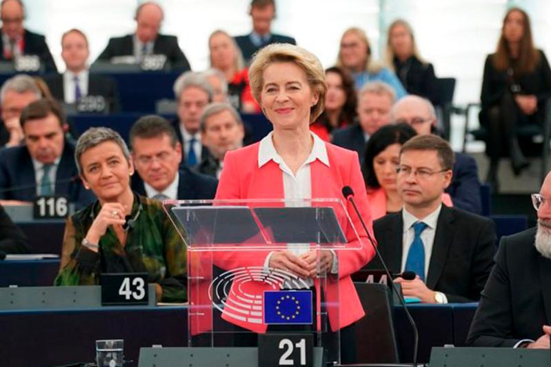 Еуропарламент Еурокомиссияның жаңа құрамын бекітті