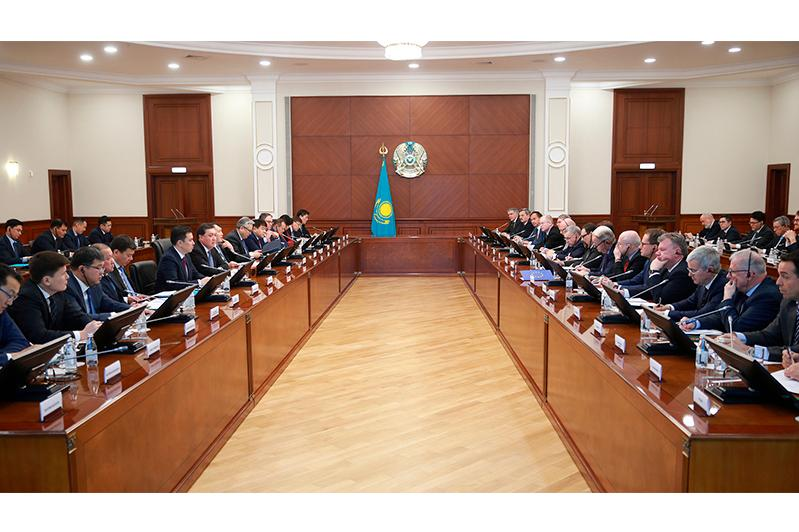 PM holds  3rd meeting of Kazakhstan-EU Investment Coop Dialogue