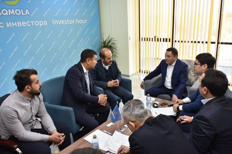 Ермек Маржықпаев тікелей қарым-қатынас форматында «Инвестор сағатын» өткізді