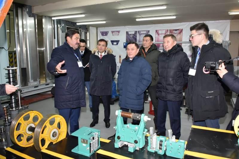 Единственный в Казахстане завод по производству высокоскоростных лифтов находится в Акмолинской области