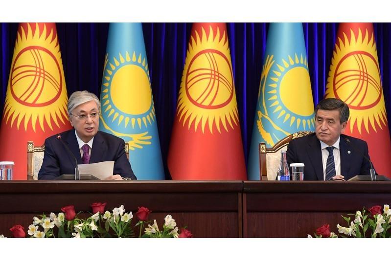 Video of President Tokayev's state visit to Kyrgyzstan released