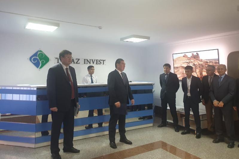 Таразда Тұңғыш Президент күніне орай «Zhambyl Invest» фронт-кеңсесі ашылды