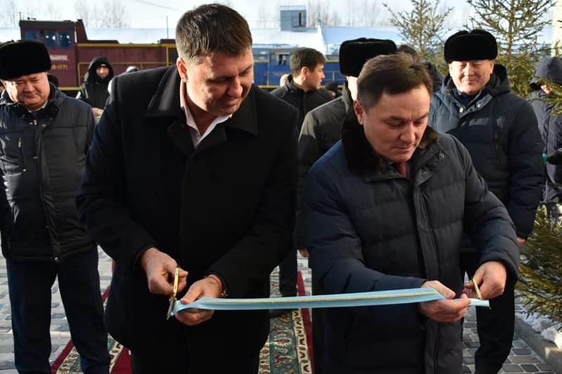 Новый высокотехнологичный мукомольный комплекс открыли в Акмолинской области