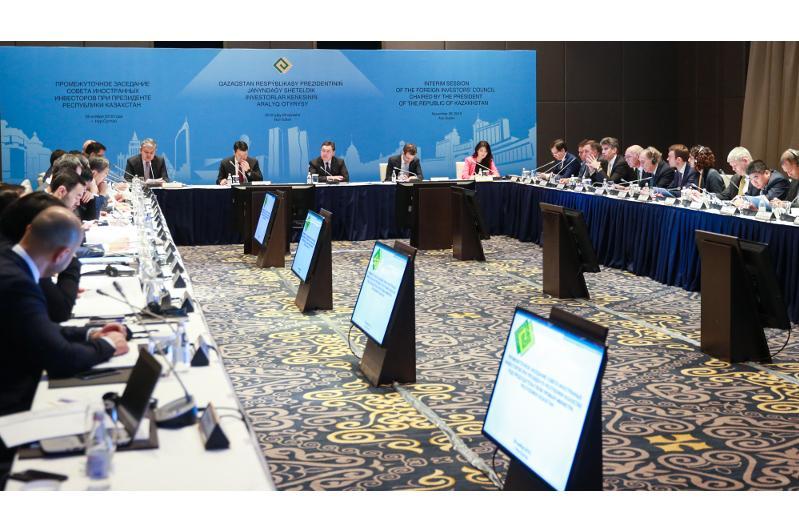 Мамин ҚР Президенті жанындағы Шетелдік инвесторлар кеңесінің отырысына дайындықты пысықтады