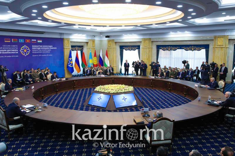 Кыргызстан передал России председательство в Совете Коллективной Безопасности ОДКБ
