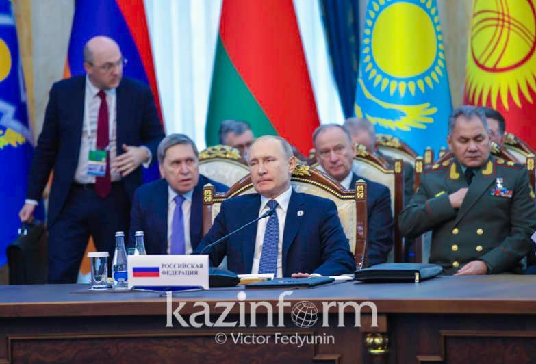 Владимир Путин обозначил курс развития Совета Коллективной Безопасности ОДКБ под председательством России