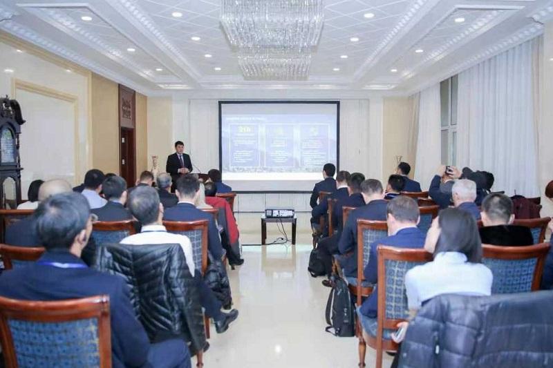 """哈萨克斯坦驻华使馆举行 """"一带一路"""" 投资研讨会"""