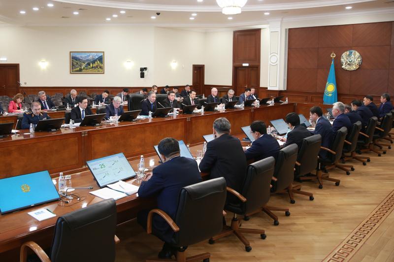 Kazakh National Modernization Commission convenes for sitting