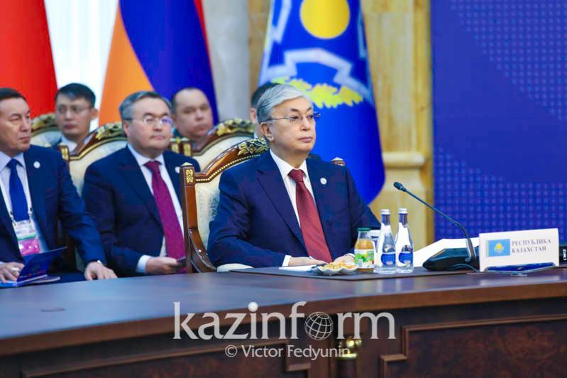 Видеообзор участия Президента Казахстана в сессии Совета коллективной безопасности ОДКБ