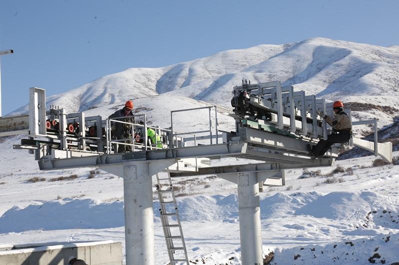 Жуалыдағы «Қараалма» тау-шаңғы базасы желтоқсан айында ашылады