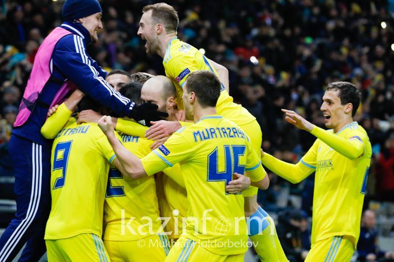 Тарихи ойын: «Астана» «Манчестер Юнайтедті» ұтты