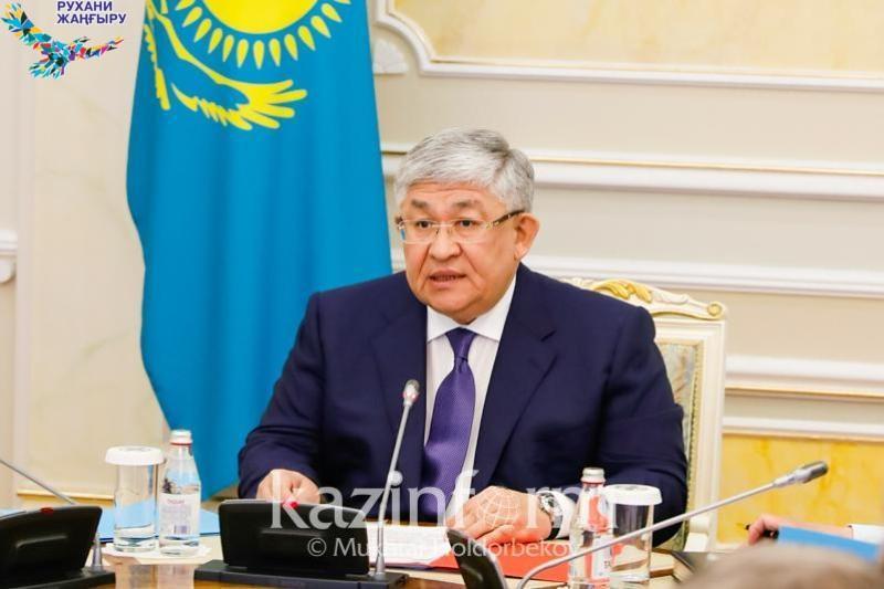 Крымбек Кушербаев принял участие в расширенном заседании Совета АНК
