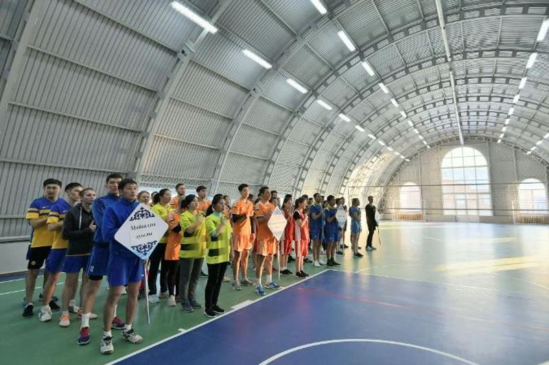 В селе Павлодарское открыли новый физкультурно-оздоровительный комплекс
