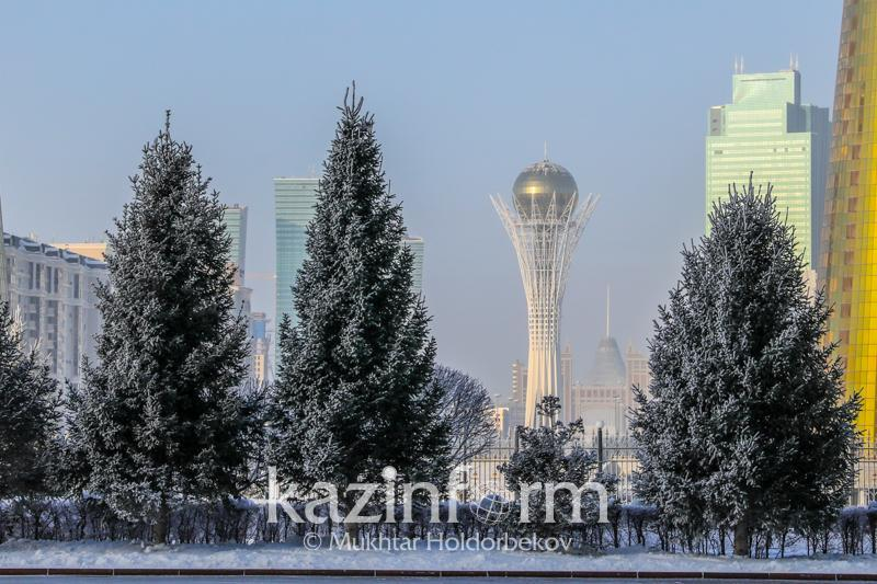Foggy weather is predicted for Kazakhstan Dec 1