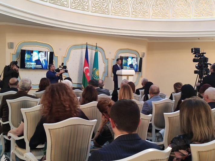 Baku marks Kazakhstan First President's Day