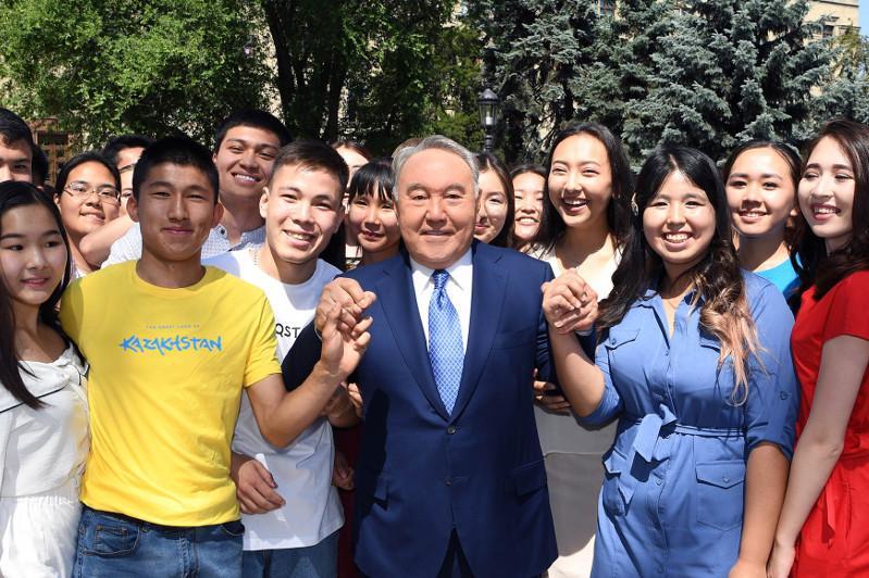 В фотообъективе Первый Президент Казахстана Нурсултан Назарбаев