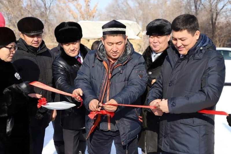 Алматы облысының Көксу ауданында 19 көпбалалы отбасы баспаналы болды