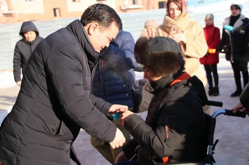 Тұңғыш Президент күні Қарағанды облысының тұрғындары қоныс тойын тойлады